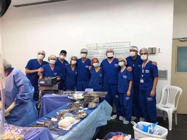 HGRS realiza o primeiro transplante de fígado