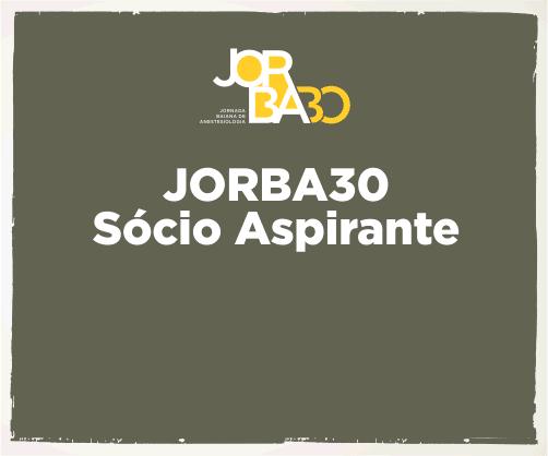 Jorba30 – Sócio Aspirante