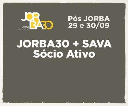 Pacote: Jorba30 + 2ª edição SAVA – Sócio Ativo