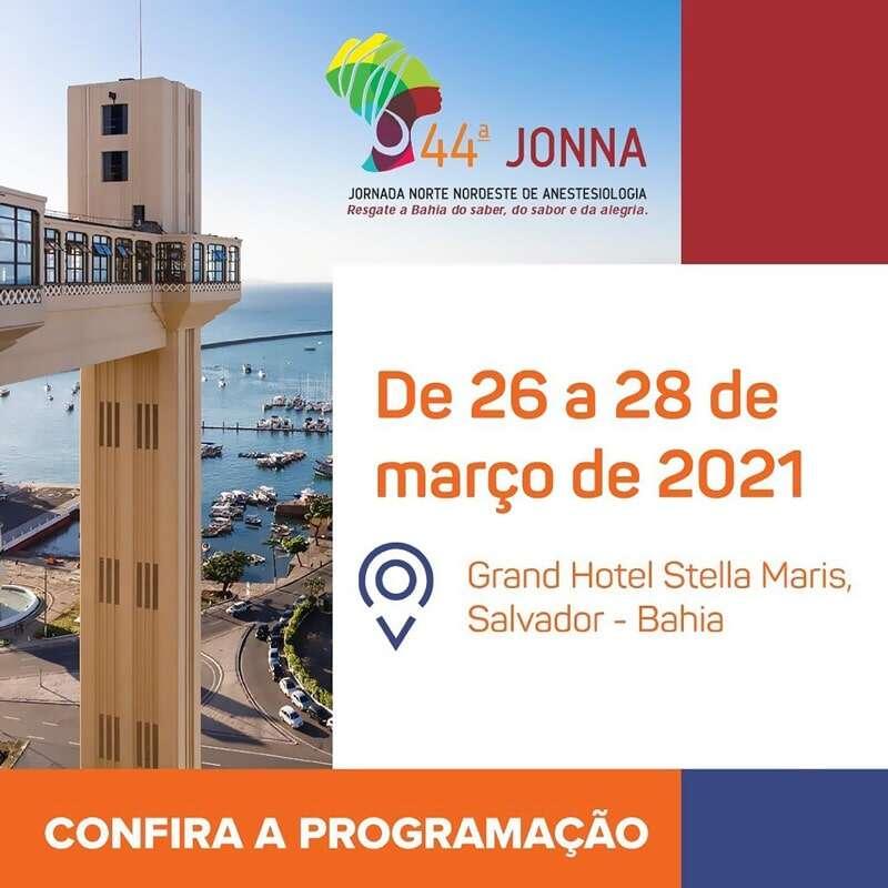 44ª Jonna 2021 Salvador Bahia