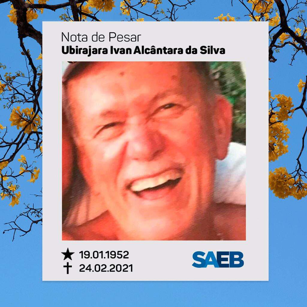 Nota de pesar – Dr. Ubirajara Ivan Alcântara Silva