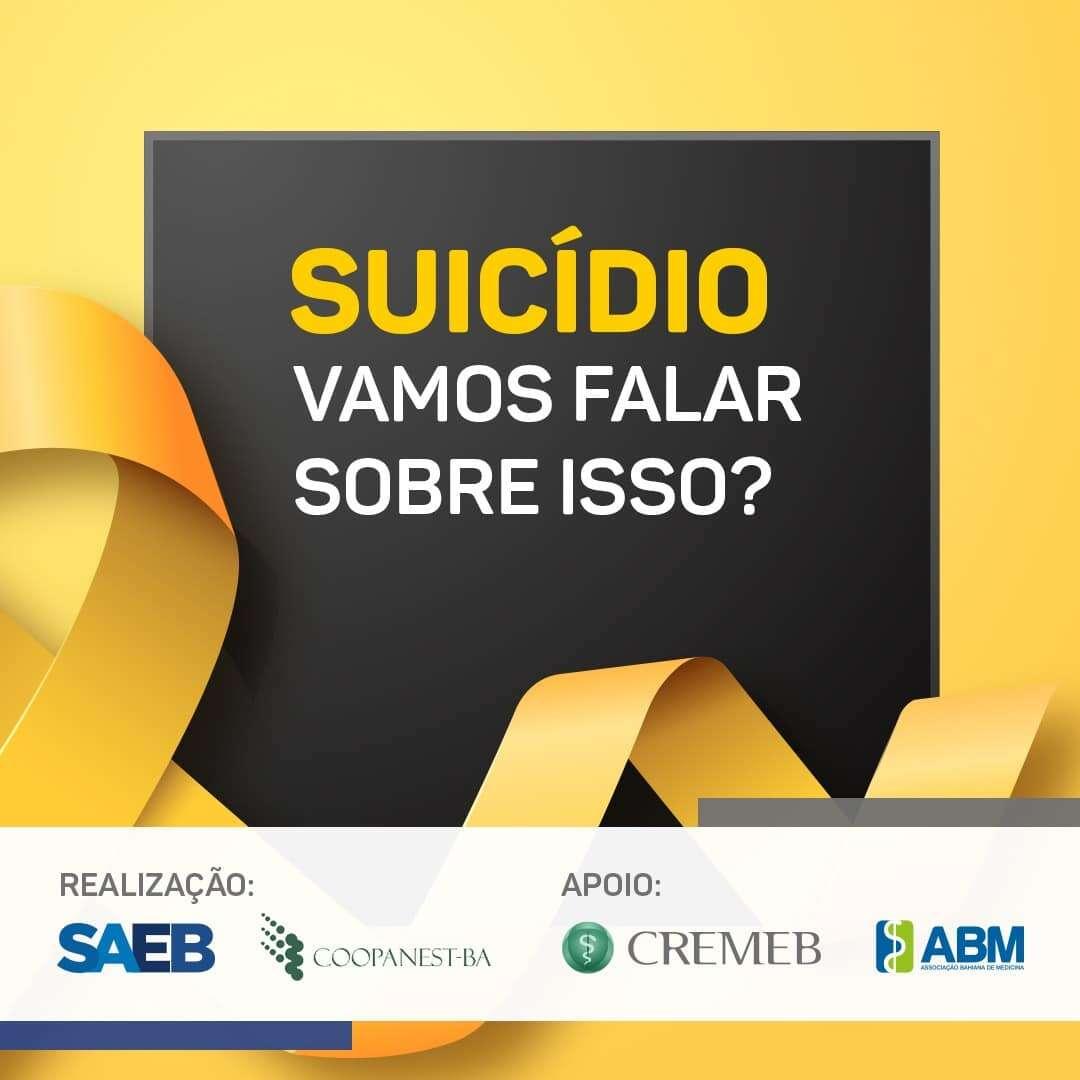 10/09: Dia Mundial de Prevenção ao Suicídio – Entidades médicas se mobilizam em campanha de conscientização sobre o suicídio