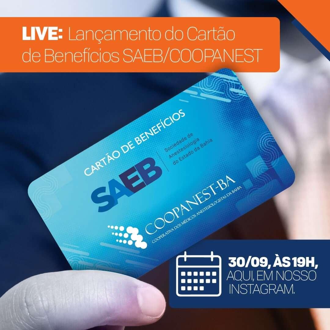 Lançamento do Clube de Benefícios SAEB /COOPANEST-BA