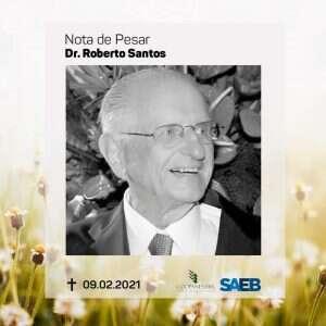 Nota de Pesar - Dr. Roberto Santos